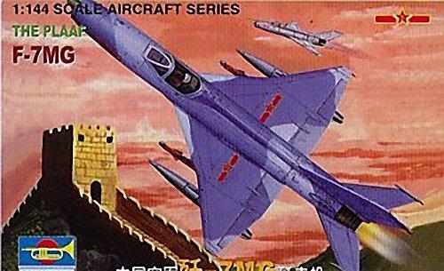 トランペッター 1/144 中国軍 F-7 MG プラモデル