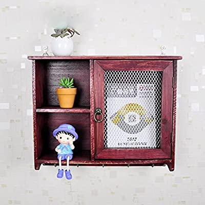 Multi - Fence Wall Wall Hanging Creative Retro Old Wooden Living Room Decoration Shelves Shelves