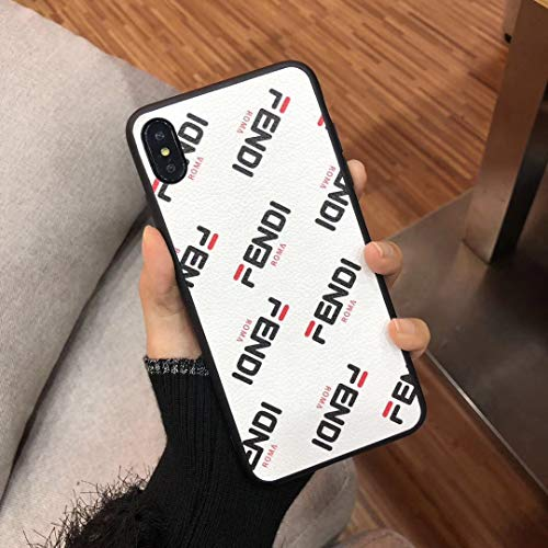 iPhone XR Case,Luxury Designer Classic Leather Protective Case for iPhone XR Case