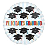 Burton and Burton 17'' Spa Felicidades Grad Caps, Multicolor