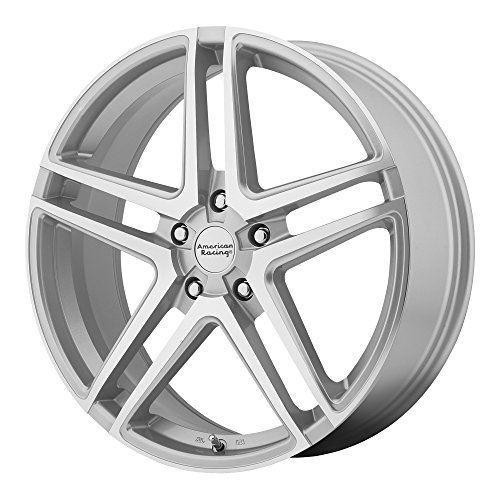 (American Racing AR907 Bright Silver Wheel with Machined Face (17x7.5