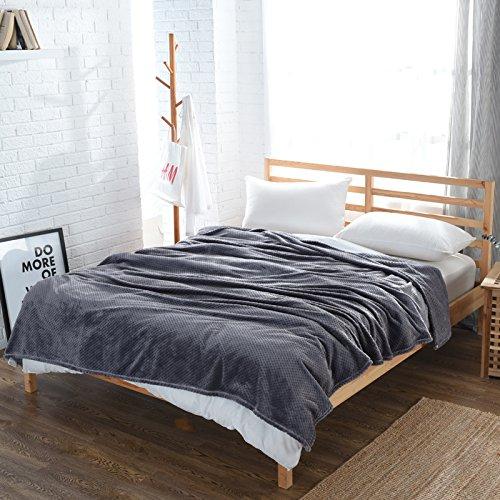 Znzbzt Office of fleece blanket fashion baby beauty blanket thin soft twin flannel small blanket ,180cmx200cm, lilac purple - (Dynasty Mesh)