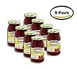 PACK OF 8 - Smucker's Natural Red Tart Cherry Fruit Spread, 17.25 oz