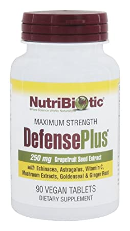 Nutribiotic, Defense Plus, 90 Tablets