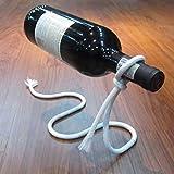 KAIL MODERN Wine Bottle Holder Rope Rack Bar Stand Kitchen Home Gift SCULPTURE
