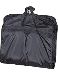 "Mybestfurn Waterproof Light Weight Carry On Garment Bag, Foldable Travel Garment Suit Carry Bag With Waterproof Shoe Bag 40""X22""X3.5"" - Black"
