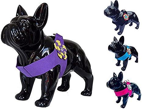 Arnés de tela sintética para perro con diseño de flor. Para perros de ...