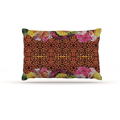 Kess InHouse Nina May New pink Eleo  Fleece Dog Bed, 50 by 60 , Multicolor