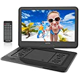 WONNIE 17.9'' Large Portable DVD/CD Player with 15.6 Swivel Screen