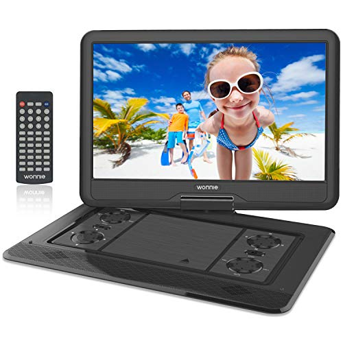 Buy Bargain WONNIE 17.9'' Large Portable DVD/CD Player with 15.6 Swivel Screen, 1366x768 HD LCD TFT,...