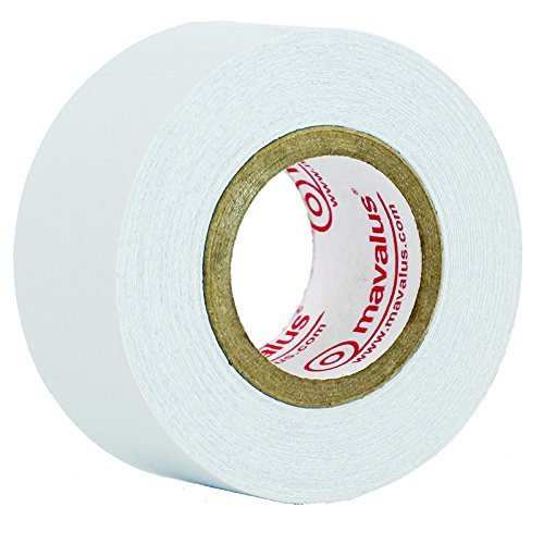 Mavalus Tape - White 1'' X 9 yds - 2 Pack by Mavalus