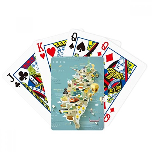 beatChong Travel Taiwan Area China Poker Playing Card Tabletop Board Game Gift by beatChong