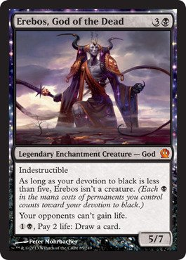 Magic: the Gathering - Erebos, God of the Dead (85/249) - Theros