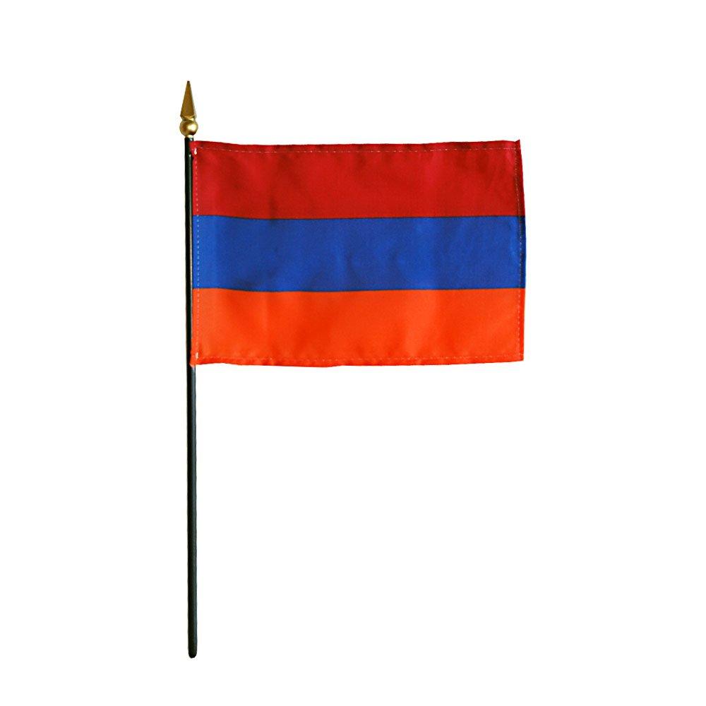 Armenia bandera de de bandera miniatura (tamaño) 20ca40
