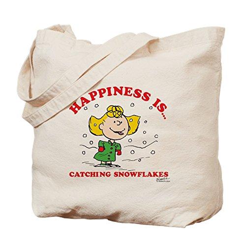 CafePress gamuza de–la felicidad es...–Bolsa de lona bolsa, bolsa de la compra Small caqui