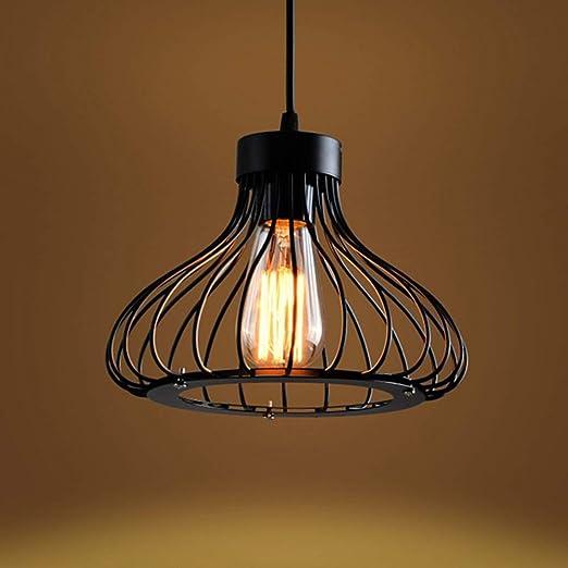HMLIFE Luz lámpara del Techo Colgante Retro rústico Industrial Light for Restaurante Bar Cafetera llevó la lámpara de Techo Moderna: Amazon.es: Hogar