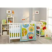 Disney Pooh's Play Day 4 Piece Bedding Set
