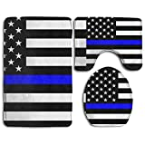 Support Police Skidproof Toilet Seat Cover Bath Mat Lid Cover