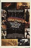 "Star Trek II: The Wrath of Khan 1982 Authentic 27"" x 41"" Original Movie Poster Fine William Shatner Sci-Fi U.S. One Sheet"