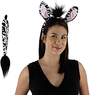 Zebra Adult Kit Halloween Costume - Most Adult & Child Elope H2698
