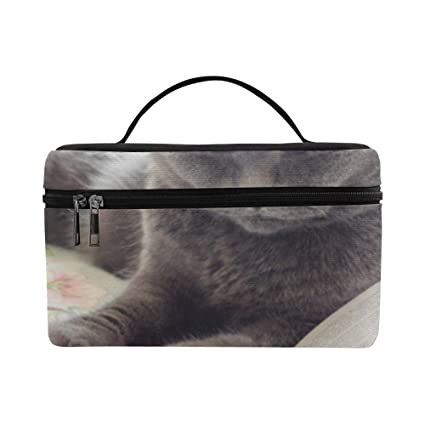 Bolsa Aseo Grande para Mujeres Kawaii Animal Cat con Libro ...