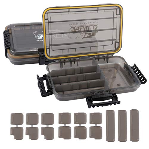 RUNCL Fishing Tackle Box, Waterproof Storage 10.65