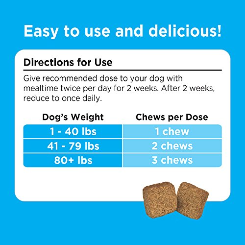 Image of Solid Gold Stop Eating Poop for Dogs with Coprophagia; Natural, Grain-Free Supplement Chews with Peppermint, 60 ct