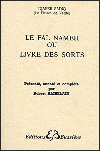 Livre Le Fal Nameh ou Livre des sorts pdf, epub ebook