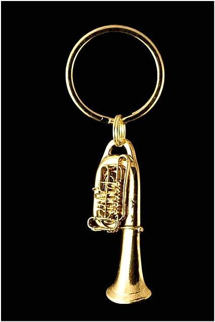 Metal Keychain Tuba