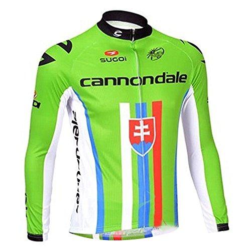 (UONO Mens Long Sleeves Cycling Jersey Jacket)