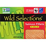 WILD SELECTIONS Salmon Fillets in Olive Oil, 3.8 Ounce Review