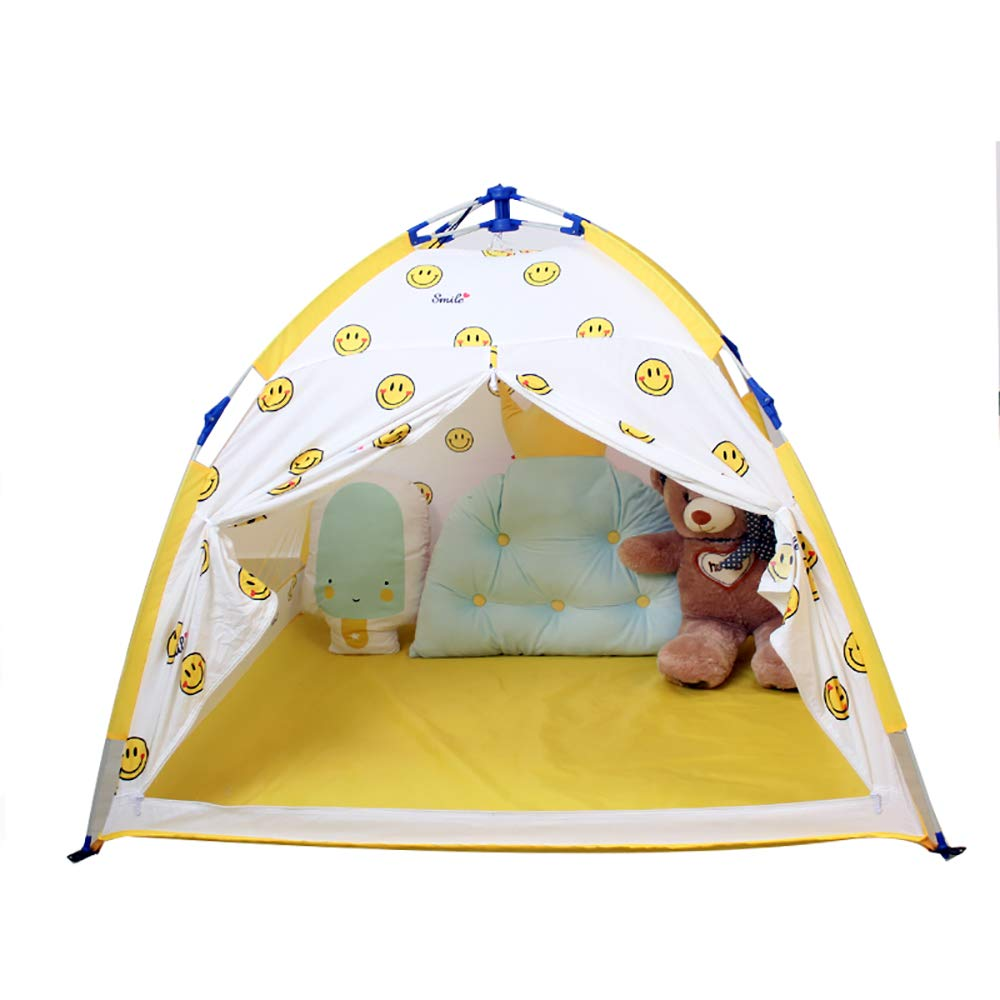 18歳の女の子のギフトのための家族の王女の演劇のテント、あなたの子供は屋内&屋外の使用のためのこの折りたたみ式ポップアップピンクの遊び家のおもちゃをお楽しみいただけます 126*91CM yellow yellow B07RKRBDD2, KAK-kids:56191f20 --- number-directory.top