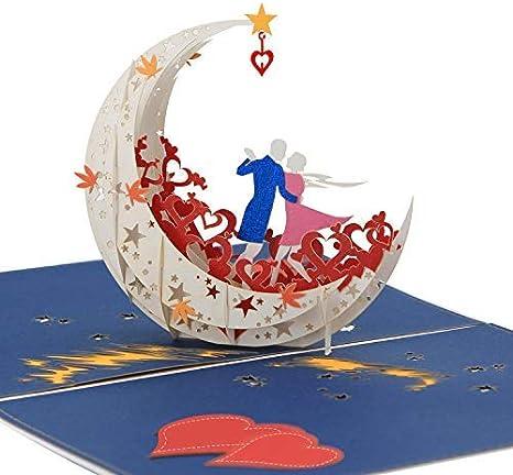Tarjeta de Felicitación Pop Up 3D Regalo Único para Ocasiones Especiales Diseño y Construcción de Primera Calidad Carta Alternativa Estilizada para Cumpleaños, Agradecimiento, Fiesta