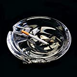 SSBY The Large Crystal Ashtray Stylish Living Room Office Ashtray Birthday Gift Ideas