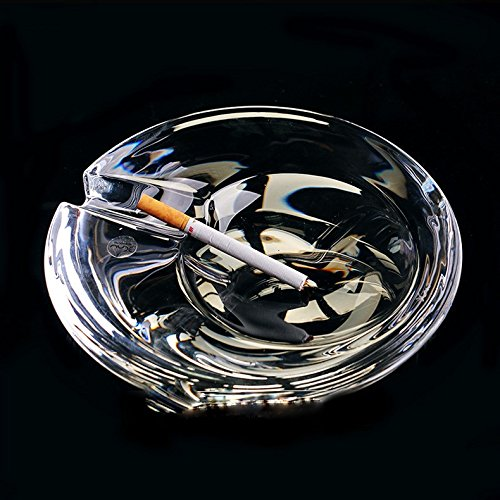 SSBY The Large Crystal Ashtray Stylish Living Room Office Ashtray Birthday Gift Ideas by SSBY