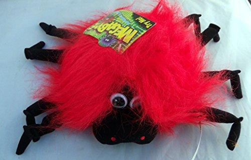 Halloween Megabyte Sound Activated Red Spider Wiggles Plush 9