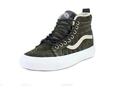 Zapatillas Vans Sk8-Hi MTE Dusty Olive/Darkest: Amazon.es: Zapatos y complementos