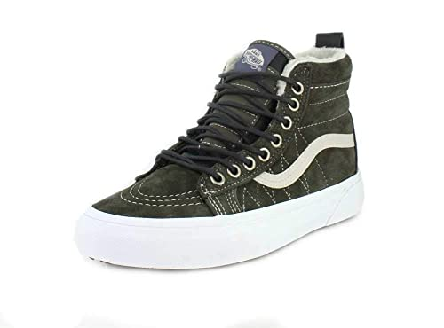 11c746c68 Zapatillas Vans Sk8-Hi MTE Dusty Olive Darkest  Amazon.es  Zapatos y  complementos