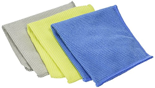 3M 9021 Microfiber Lens Cleaning Cloth-Pack of 10]()