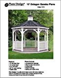 Classic Gazebo Project Plans -Design #10012