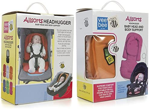 Vee Bee Allsorts Pad Infant Baby Head//Body Support for Pram Stroller Car Seat