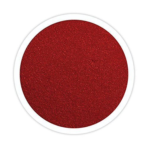 Sandsational Apple Red Unity Sand~1.5 lbs (22 oz), Red Colored Sand for Weddings, Vase Filler, Home Décor, Craft Sand (Unity Red Candle)