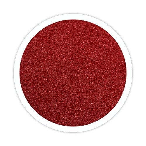 (Sandsational Apple Red Unity Sand~1.5 lbs (22 oz), Red Colored Sand for Weddings, Vase Filler, Home Décor, Craft Sand)