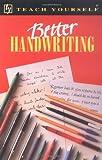 Better Handwriting, Rosemary Sassoon and Gunnlaugur S. E. Briem, 0844237809