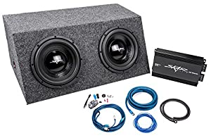 skar audio dual 10 quot 800 watt complete bass package includes subwoofers in sealed