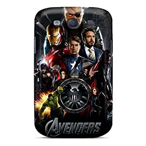 For Galaxy S3 Tpu Phone Case Cover(the Avengers)