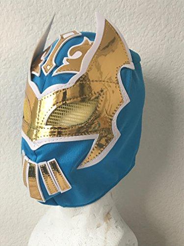 Lucha Dragons Costumes (SIN CARA BLUE KIDS MASK KALISTO LUCHA DRAGONS PENTAGON JR MIL)