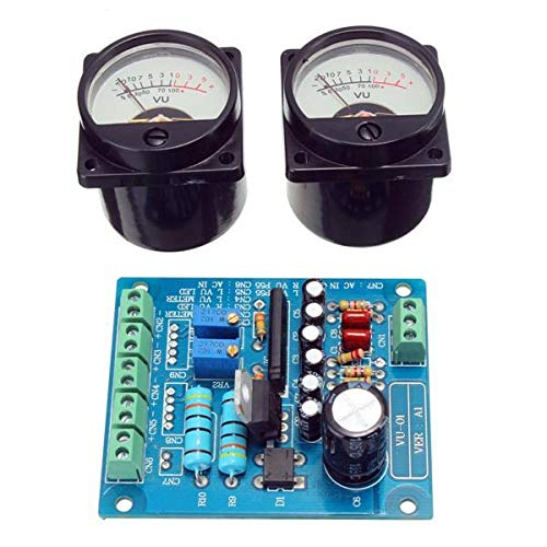 2Pcs Meter Warm Backlight Recording + Audio Level With Driver Board - Arduino Compatible SCM & DIY Kits Module Board - 2 x UM2 HeatedBed Platform Dedicated Tighten Leveling Fixing Nut ()
