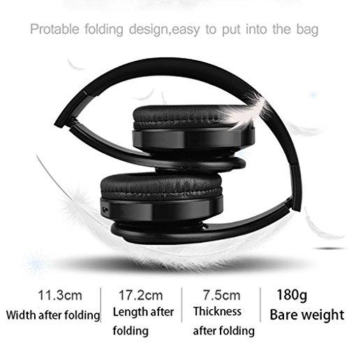 Bluetooth Headphones,Teetox Over Ear Hi-Fi Stereo Wireless ...
