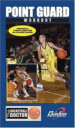 97d33258deae Amazon.com  Converse Point Guard Playmaker Workout  VHS   John Scott ...